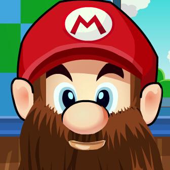 马里奥剃胡子