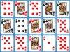 扑克单人纸牌