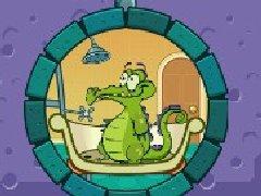 鳄鱼爱洗澡