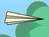 驾驶纸飞机