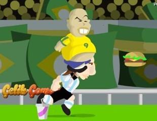 胖子足球跑酷