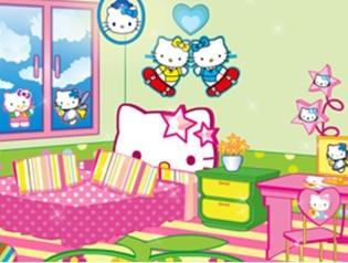 凯蒂猫的温馨卧室