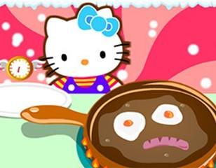 凯蒂猫冬日早餐
