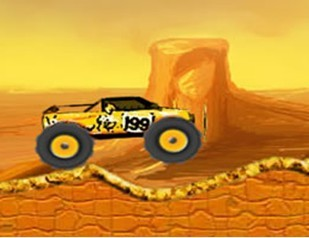 沙漠越野赛无敌版