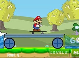 滑板大师马里奥
