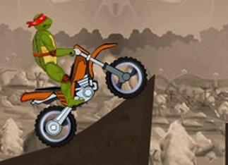 忍者神龟摩托表演