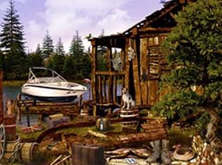 湖边小屋谜 案