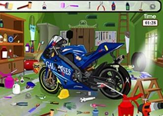 整理摩托车库