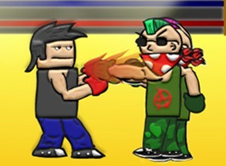 残酷的拳击赛