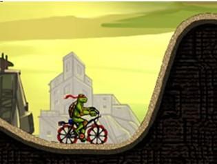 忍者神龟骑单车