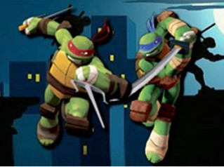 忍者神龟乒乓球