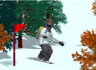 滑雪障碍赛中文版