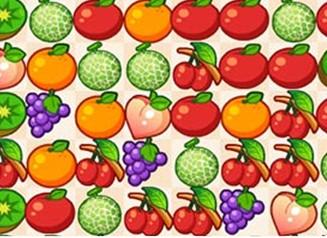 清甜水果对对碰