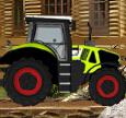 农场拖拉机运货