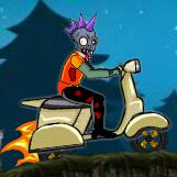 僵尸骑摩托车