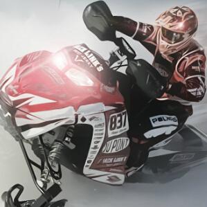 雪地摩托大赛