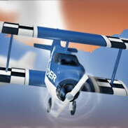 自由飞翔的小飞机