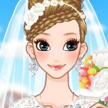 新娘子的发型