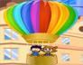 热气球往上飞