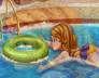 索菲亚公主去游泳
