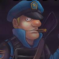 警察打僵尸