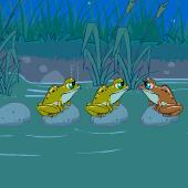 小青蛙换边