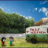 恐怖的冰淇淋店
