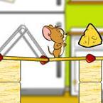杰瑞搭桥吃奶酪