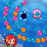 可爱人鱼泡泡龙