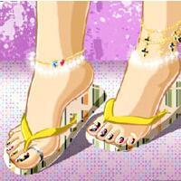 时尚彩脚甲秀2