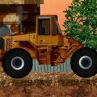 模拟铲土车