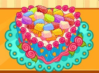 可爱 蛋糕/可爱心形蛋糕