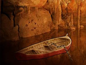 逃离远古山洞