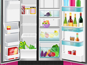 整理凌乱的冰箱