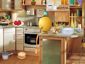 经典厨房找东西