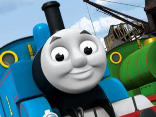 托马斯火车拼图
