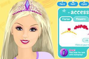 芭比娃娃化妆2