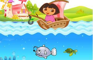 朵拉爱钓鱼