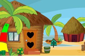 海滩小屋逃生